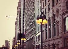 Michigan Avenue Buildings Stock Images