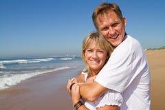 Mid age couple Royalty Free Stock Photo