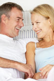 Mid age couple Stock Photos