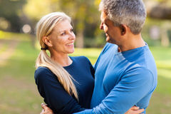 Mid age couple Royalty Free Stock Photography