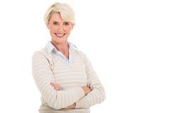 Mid age woman Stock Photos