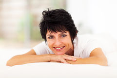 Mid aged woman Royalty Free Stock Images