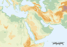 Middle East physical Stock Photo
