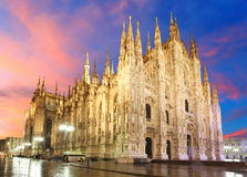 Milan cathedral dome Royalty Free Stock Photos