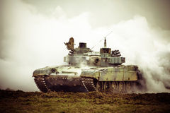 Military tank on war Royalty Free Stock Photography