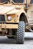 A military vehicle Stock Image