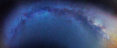 Milky Way galaxy Royalty Free Stock Images