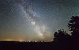 Milky Way stars Stock Photos