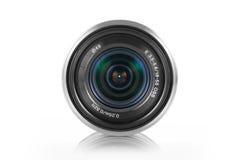 Mirrorless camera lens Stock Image