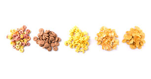 Mix Variety Of Breakfast Cereals  VI Stock Photography
