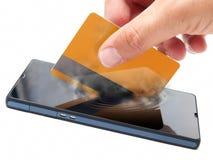 Mobiele betaling Royalty-vrije Stock Afbeelding