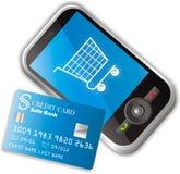 Mobile E-commerce Royalty Free Stock Photo
