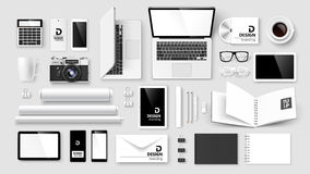 Mock Up set of corporate identity and branding Royalty Free Stock Photo
