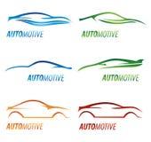 Modern car logos Royalty Free Stock Photo