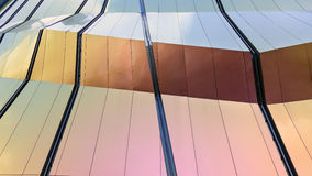 Modern design facade Architecture details Royalty Free Stock Image