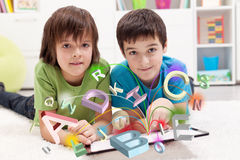 Modern education and online learning possibilities Stock Photography
