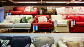 Furniture store shop Royalty Free Stock Photos
