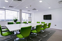 Modern office boardroom Royalty Free Stock Photography