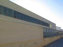 Moderne Gebäudefassade Stockfotografie