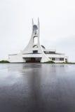 Moderne Kirche Stykkisholmskirkja in Island Lizenzfreie Stockfotografie