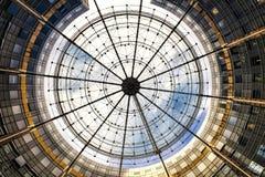 Modernes kreisförmiges abstraktes Gebäude Stockfotografie