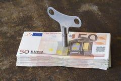 Moeda européia Fotos de Stock Royalty Free