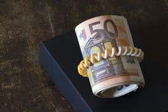 Moeda européia Fotografia de Stock Royalty Free