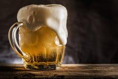 Mok bier Royalty-vrije Stock Fotografie