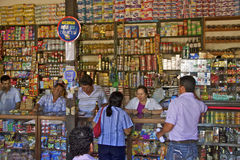 Mom-and-dad-store, Barichara, Colombia Royalty Free Stock Photos