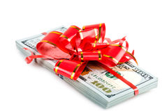 Money gift Stock Image