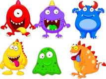 Monster cartoon collection Stock Photos