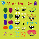 Monster and Character Creation Kit Stock Photography