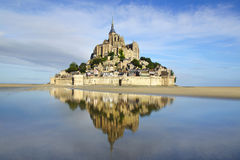 Mont Saint Michel. Immagini Stock Libere da Diritti