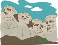 Montaje Rushmore Foto de archivo