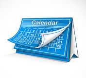 Monthly calendar Stock Photography