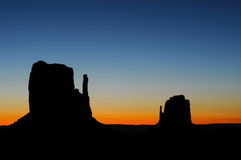 Monument Valley Sunrise Royalty Free Stock Photo