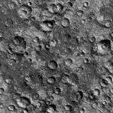 Moon crater surface Royalty Free Stock Image