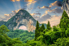 Moon Hill of China Royalty Free Stock Images
