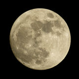 The Moon on a night sky. Royalty Free Stock Photo