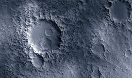 Moon surface Royalty Free Stock Images