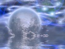 Moonrise Royalty Free Stock Images