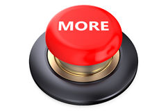 More Red button Stock Photography