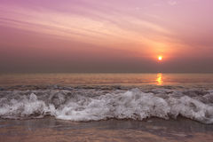 Morning wave Stock Image
