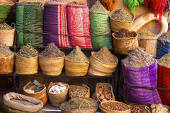 Moroccan spices and herbs Royalty Free Stock Photography