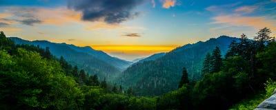 Mortons Overloo, Great Smoky Mountains Fotografia Royalty Free