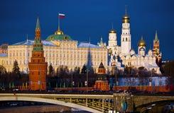 Moskou, het Kremlin. Rusland Stock Fotografie