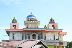 Mosque in Sorong Royalty Free Stock Images