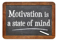 Motivation is a state of mind Stock Images