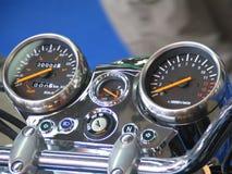 Motobike command table Royalty Free Stock Image