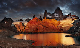 Mount Fitz Roy, Patagonia, Argentina Royalty Free Stock Photo